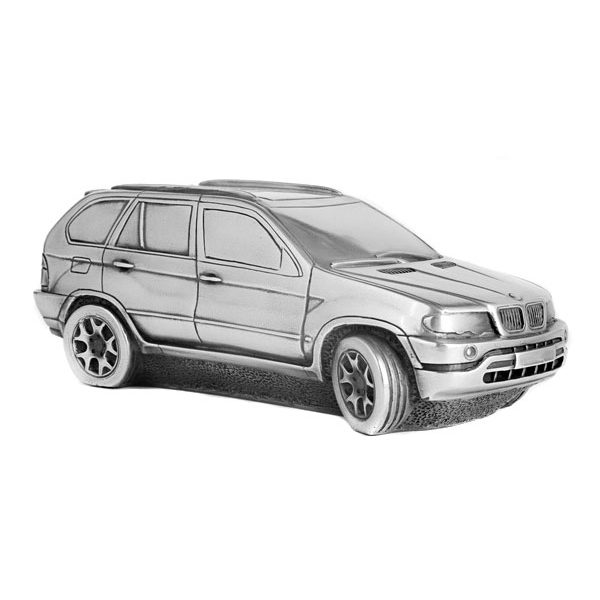 "Скульптура-автомобиль Compulsion Gallery  ""BMW X5"", металл, 23 см"