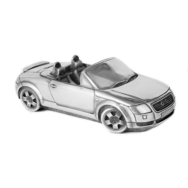 "Скульптура-автомобиль Compulsion Gallery ""Audi TT Roadster"", металл, 20 см"