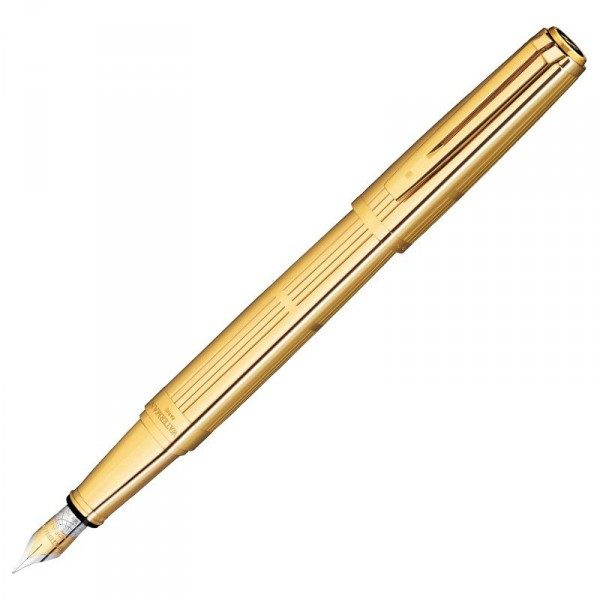 Ручка перьевая Waterman Exception Solid Gold